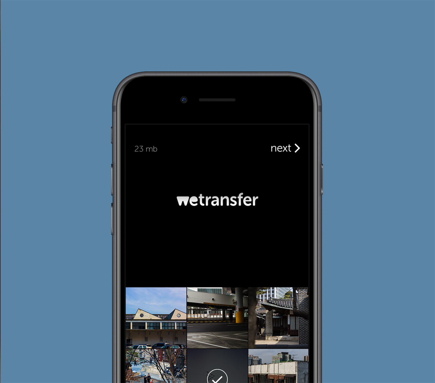 WeTransfer Mobile